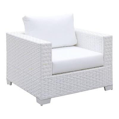 Florent Outdoor Arm Chair - White - miBasics