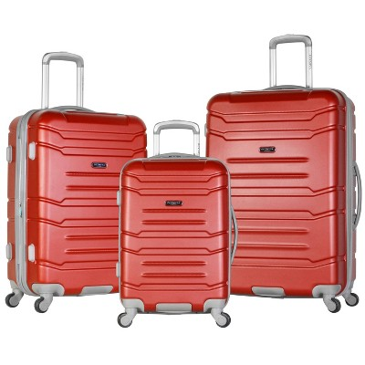 Olympia USA Denmark 3pc Luggage Set - Wine