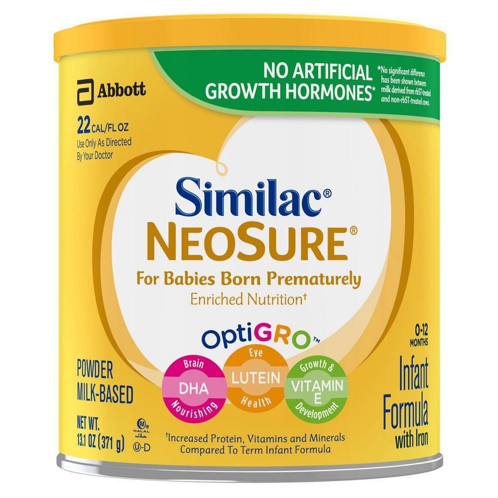 Similac Neosure Infant Formula With Iron Powder 13 1oz