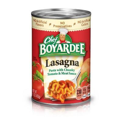 Chef Boyardee Lasagna - 15oz