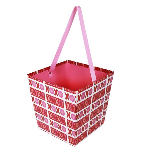 Valentine's Day Large Paper Bucket XOXO - Spritz™ - image 1 of 1