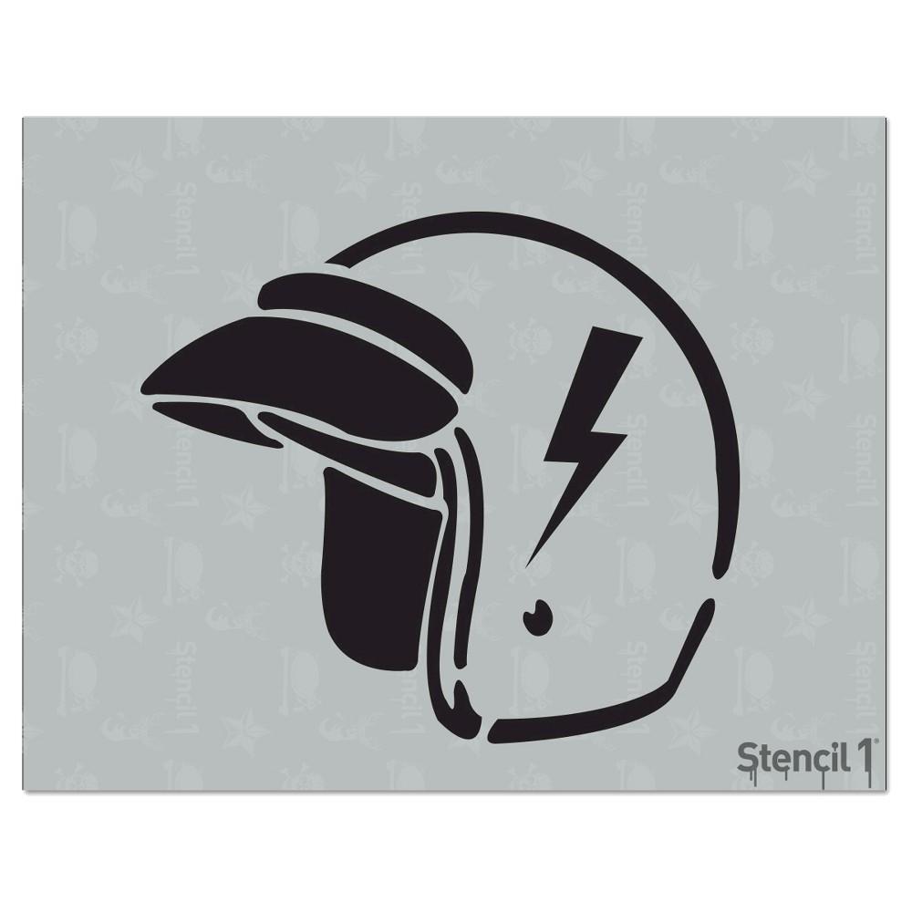 Stencil1 Helmet - Stencil 8.5