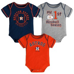 MLB Houston Astros Boys' Bodysuit