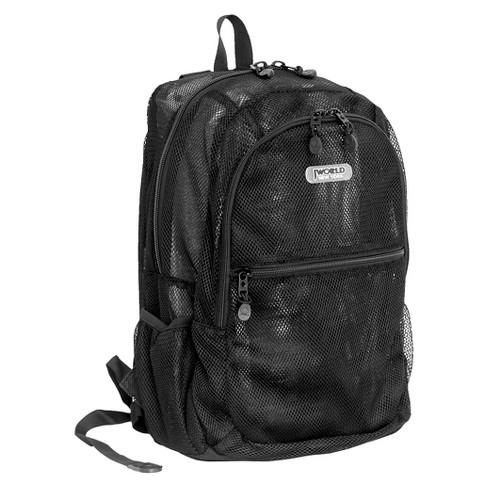 "J World 18"" Mesh Backpack - image 1 of 3"