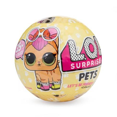 L.O.L. Surprise! Pets S3 Re-released Pets with 6 Surprises - image 1 of 4