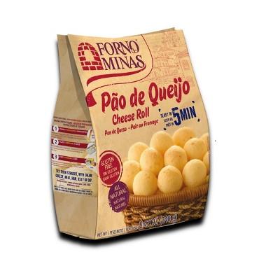 Forno de Minas Pao De Queijo Frozen Cheese Roll - 8.47oz