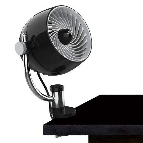 Vornado Pivot3C Personal Air Circulator Portable Fan with Multi Surface Clip Black - image 1 of 4