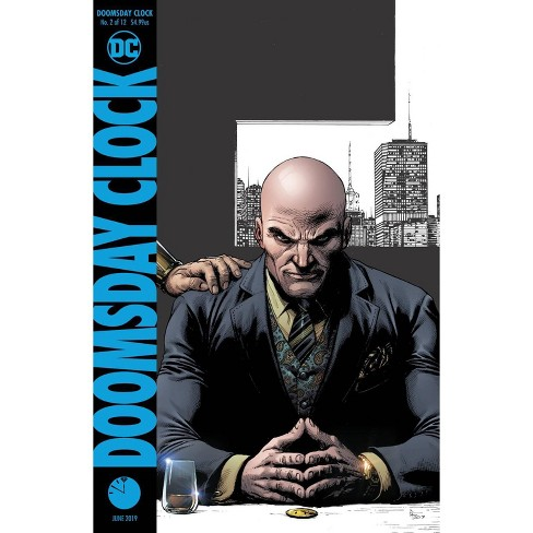 Dc Doomsday Clock 2 Comic Book Final Printing Target