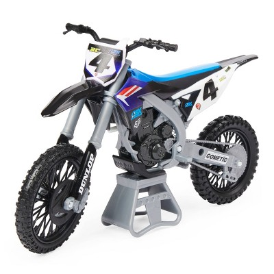 Supercross - 1:10 Scale Die Cast Collector Motorcycle - Ricky Carmichael