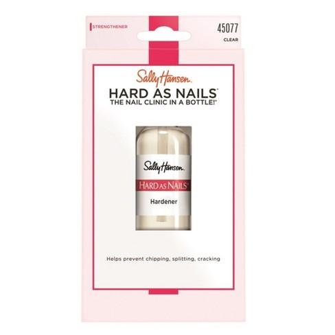 Sally Hansen Nail Treatment 45077 Hard As Nails Clear - 0.45 Fl Oz ...