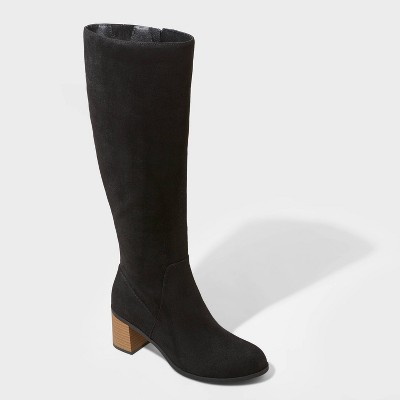 Women's Marlee Knee High Heeled Boots - Universal Thread™