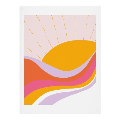 SunshineCanteen Laurel Canyon Sunrise Art Print - Society6