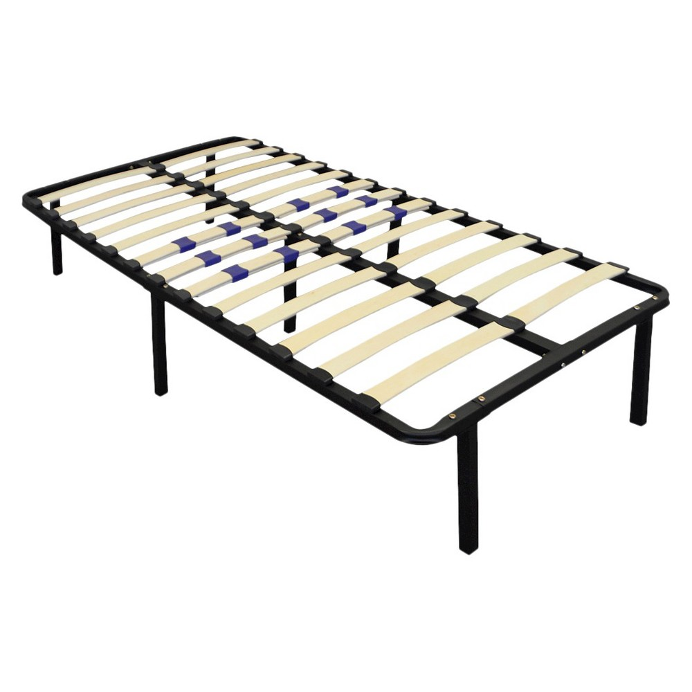 Image of Platform Bed Frame Box Spring Replacement with Adjustable Lumbar Support (Twin) - Eco Dream
