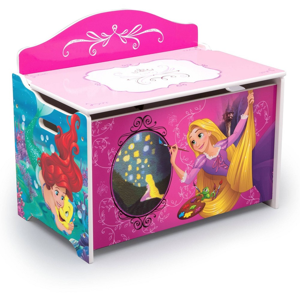 Image of Disney Princess Toy Box - Delta Children