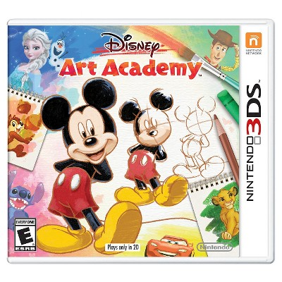 Disney Art Academy Nintendo 3DS