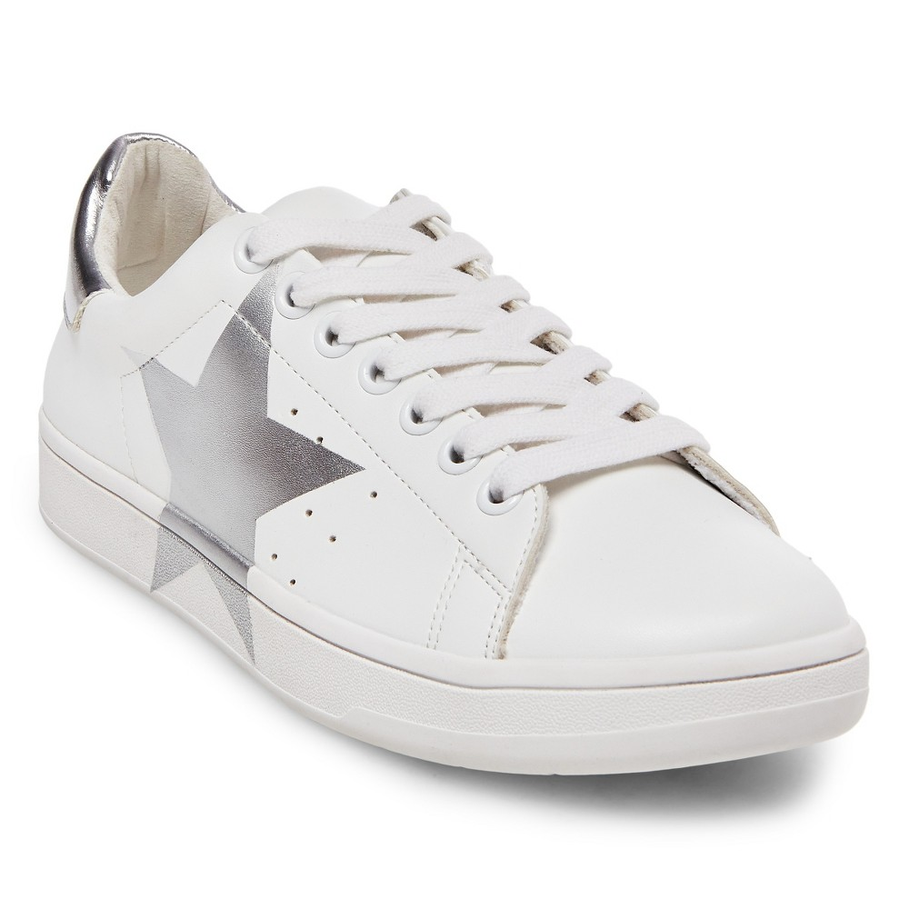 Women's Mad Love Reba Sneakers - White 7.5