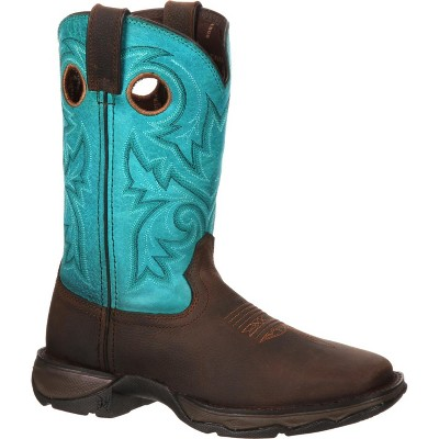 Lady Rebel by Durango Women's Turquoise Bar None Western Boot