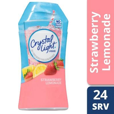 Crystal Light Liquid Strawberry Lemonade Drink Mix - 1.62 fl oz Bottle