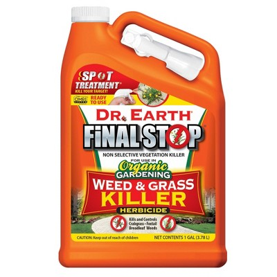 Dr Earth Ready to Use Weed and Grass Killer - 1 gallon
