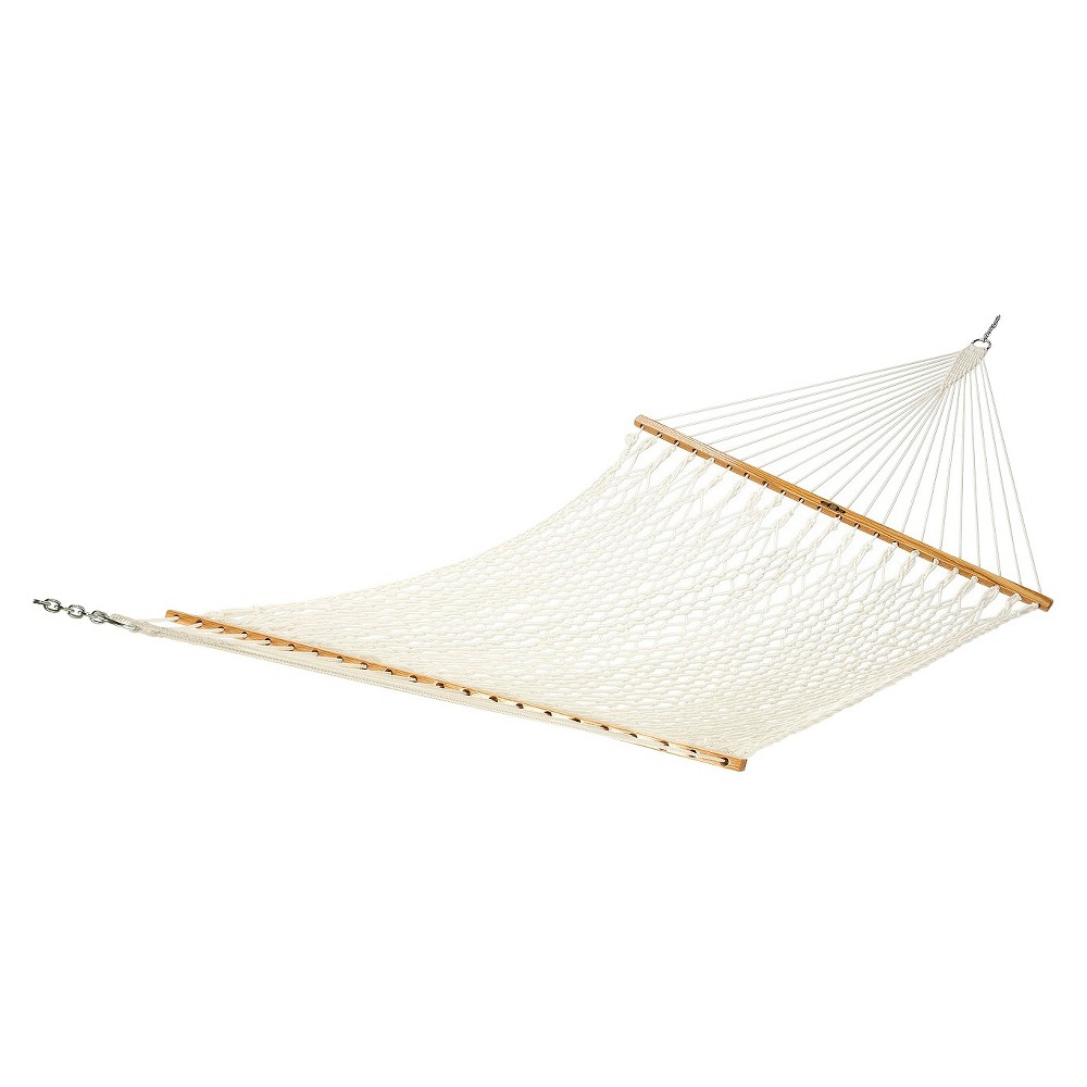 Image of Original Pawleys Island Large Polyester Rope Hammock - White