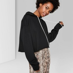 Women's Cropped Hoodie - Wild Fable™ (Regular & Plus)