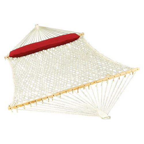 Deluxe Double Rope Hammock - Natural