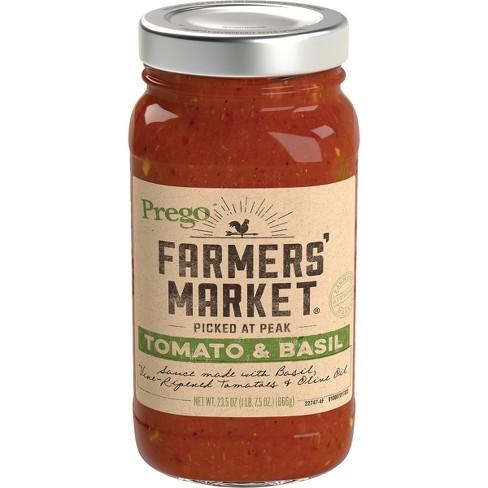 Prego Farmers' Market Tomato & Basil