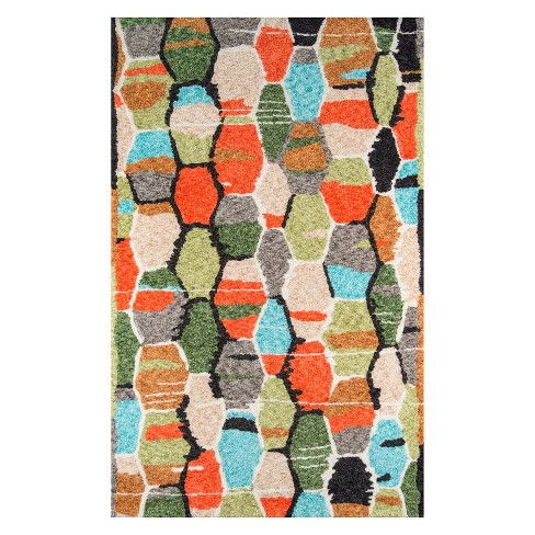Bungalow Tiles Table Area Rug