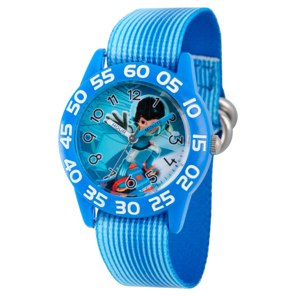 Boys' Disney Miles from Tomorrow Land Black Plastic Time Teacher Watch - Blue