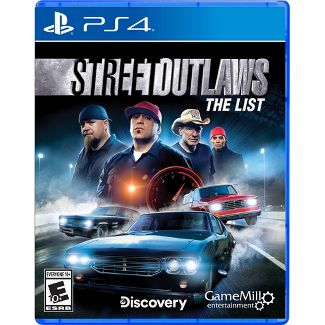 Street Outlaws: The List - PlayStation 4
