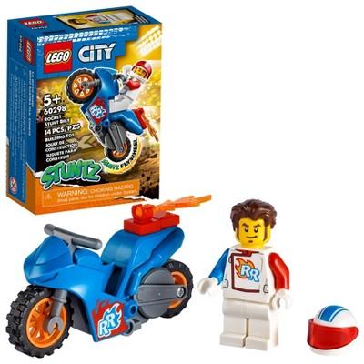 LEGO City Rocket Stunt Bike 60298 Building Kit