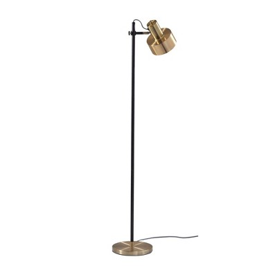 Clayton Floor Lamp Matte Black (Lamp Only)- Adesso