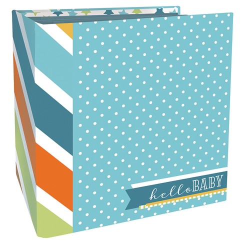 Paper House® Book-Bound Scrapbook - Baby Boy - image 1 of 2