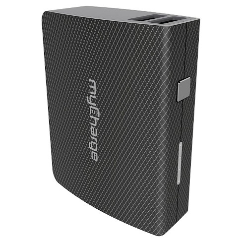 MyCharge Amp Max Portable Charger - Black