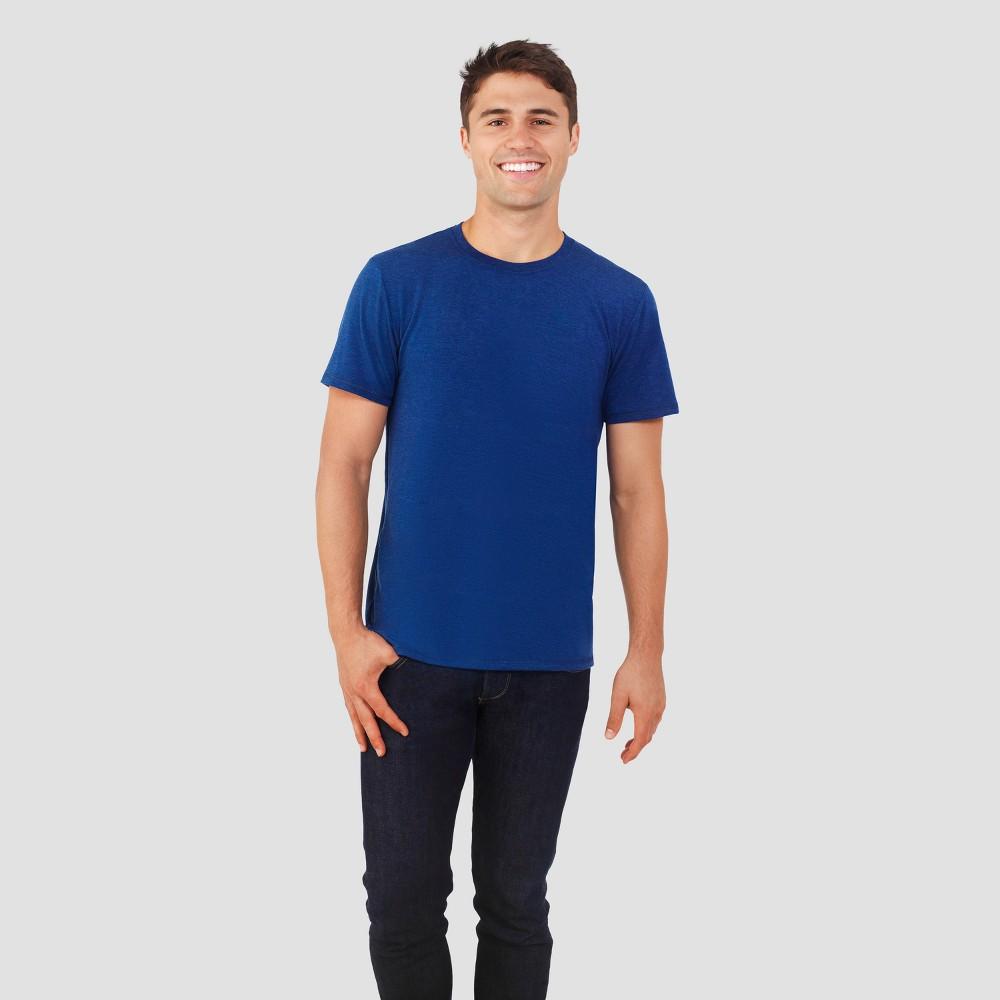 Fruit of the Loom Select Men's Everlight Short Sleeve T-Shirt - Navy (Blue) S