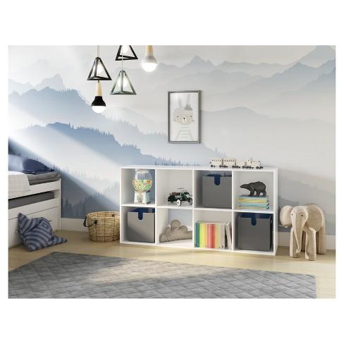 11 8 Cube Organizer Shelf White