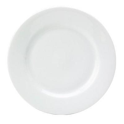Dinner Plates 10.6  Royal White - Set of 6