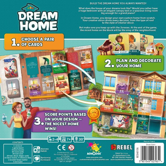 Dream Home Board Game, board games image number null