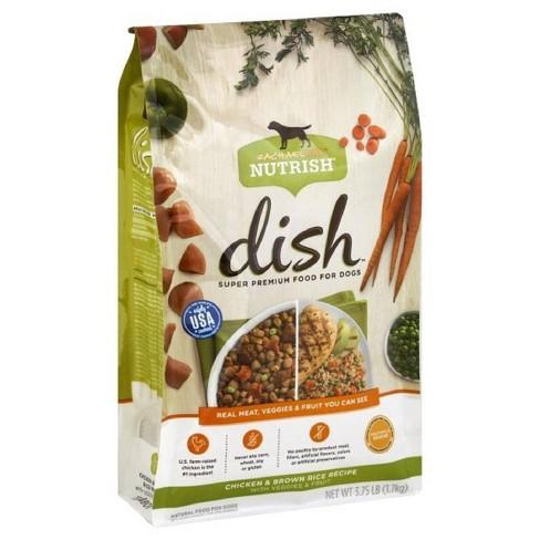Rachael Ray Nutrish Dish Chicken & Brown Rice Recipe Super Premium Dry Dog Food - image 1 of 3