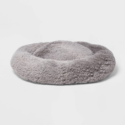 Super Plush Cuddler Round Dog Bed - XL - Gray - Boots & Barkley™