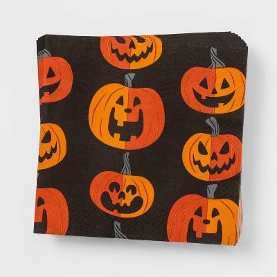 30ct Pumpkin Disposable Halloween Lunch Napkins - Hyde & EEK! Boutique™