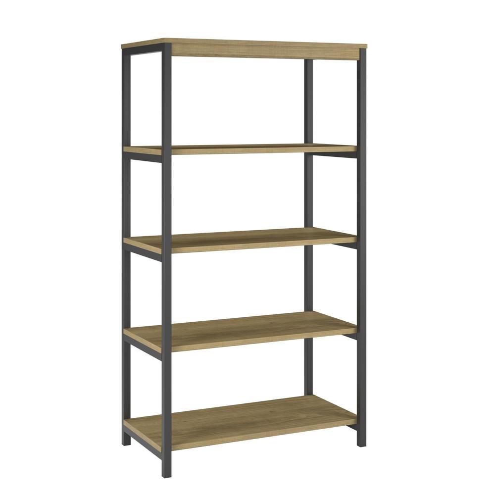 55 Thrive 5 Shelf Bookcase Golden Oak - Room & Joy