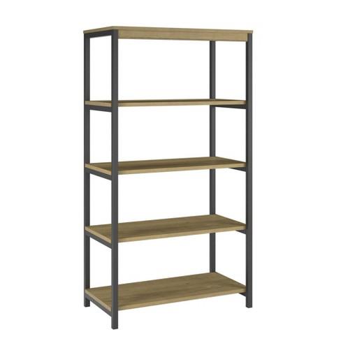 55 Thrive 5 Shelf Bookcase Golden Oak Room Joy