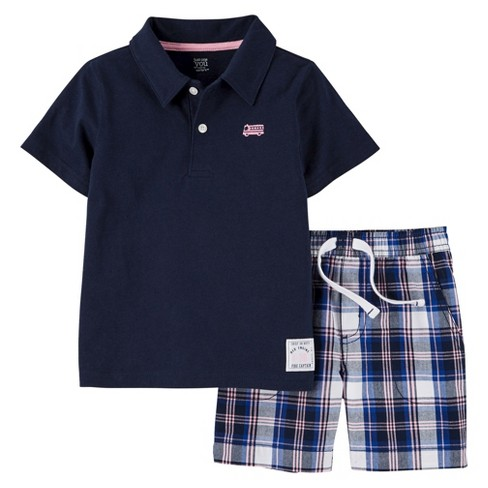 5860a28e Just One You™ Made By Carter's® Toddler Boys' 2pc Short Set - Blue ...