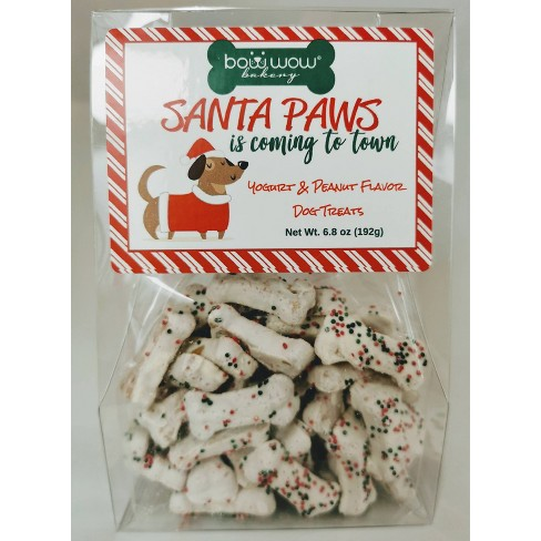 Bow Wow Bakery Small Sprinkle Holiday Dog Treats - 6.8oz - image 1 of 4