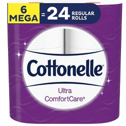Cottonelle Ultra Comfort Care Toilet Paper - Mega Rolls