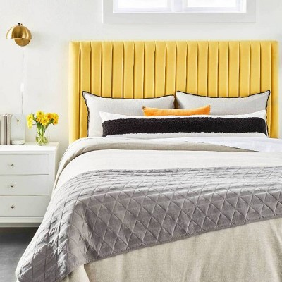Our Statement Gray & Yellow Bedroom Furniture Collection