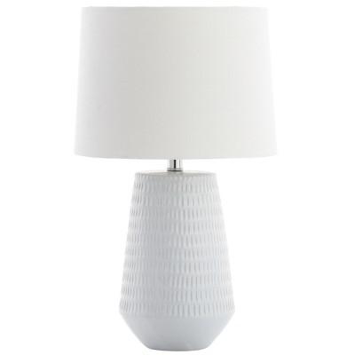 Stark Table Lamp White 11 x18  - Safavieh