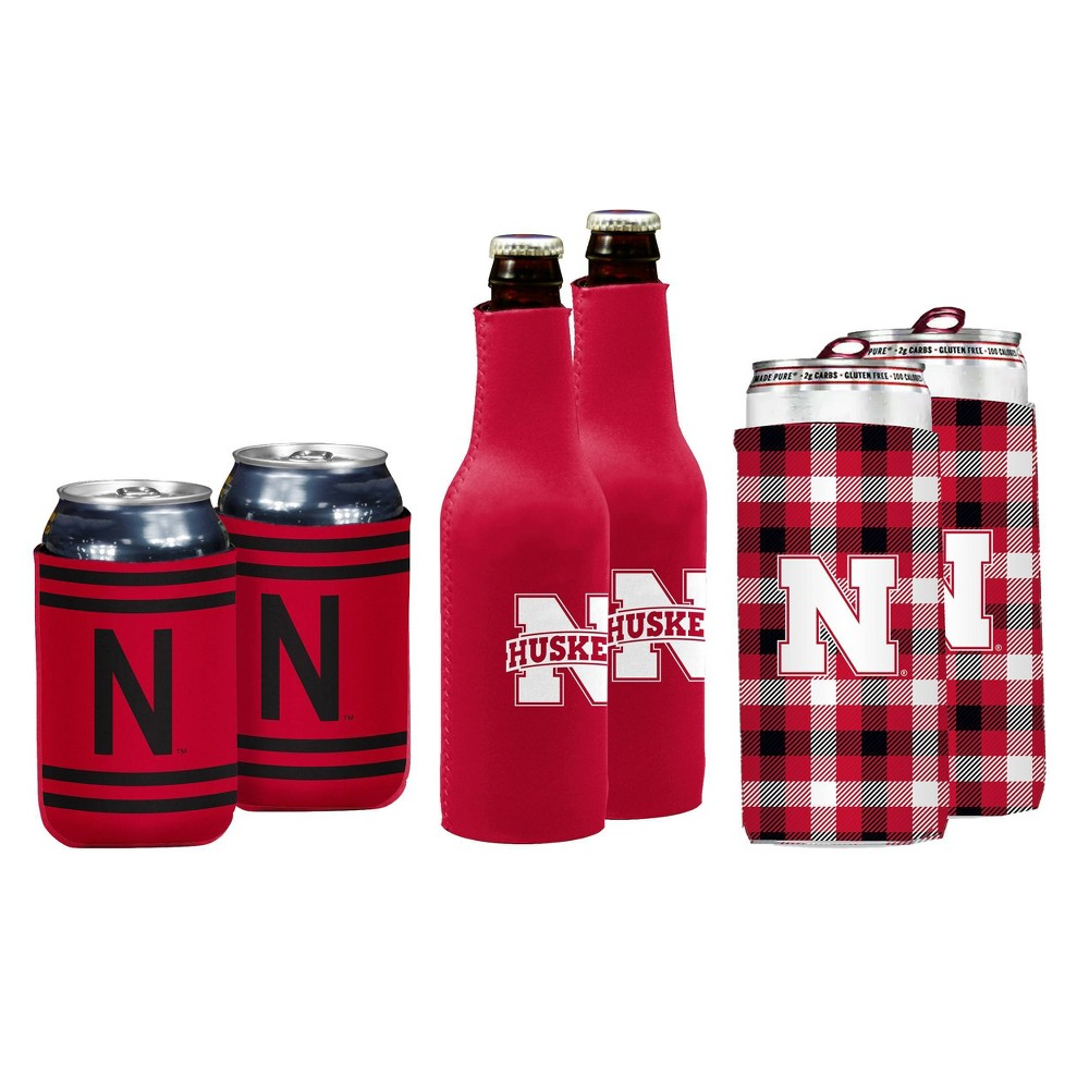 Ncaa Nebraska Cornhuskers Coozie Variety Pack