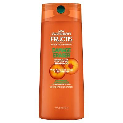 Shampoo & Conditioner: Garnier Fructis Damage Eraser